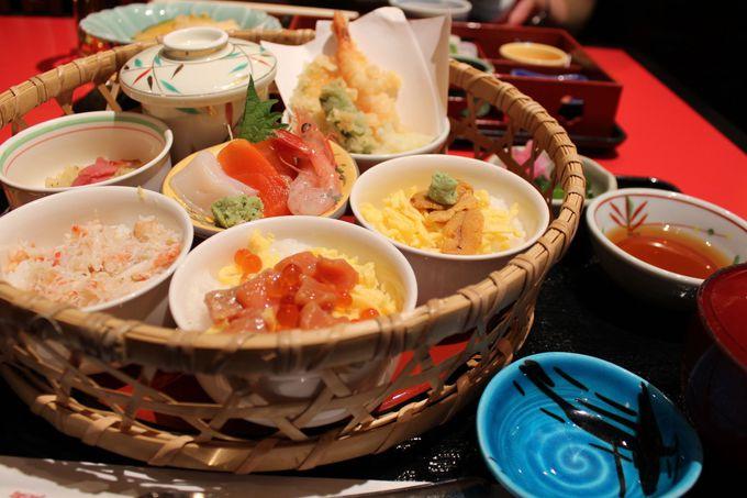 北海道を丸ごと一度に楽しめる「しらかば定食」