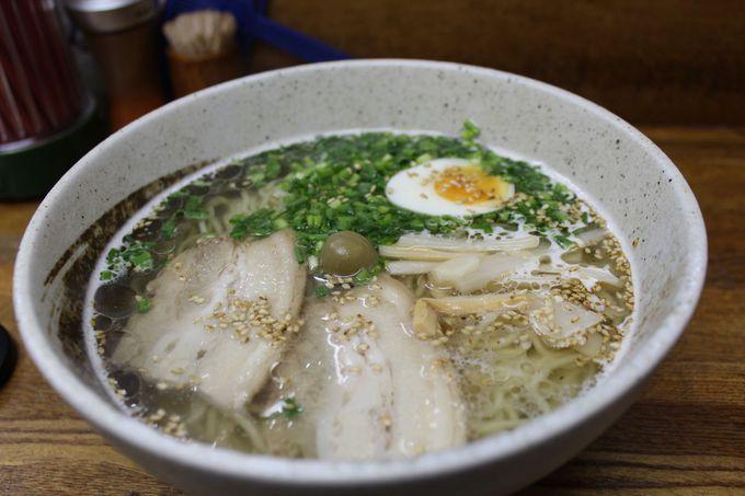 ミシュランガイド北海道2012に記載された「鮭ぶし塩ラーメン」