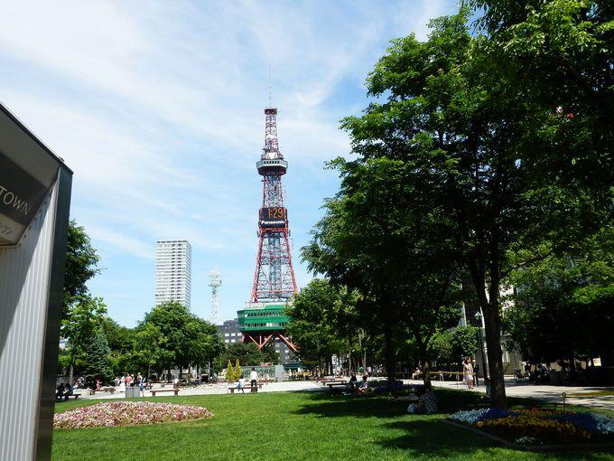 札幌の顔・テレビ塔