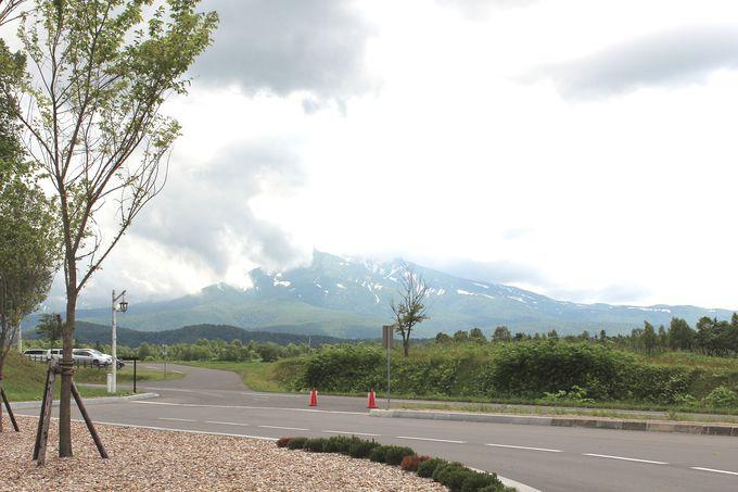 大雪山連峰が一望できます
