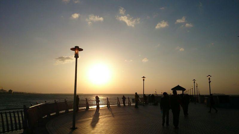 夕日が美しい!淡水の港はロマンティックなデートスポット♪