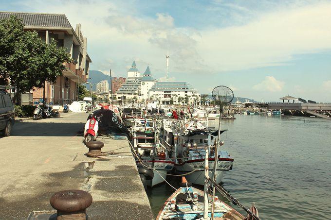 淡水の観光港♪