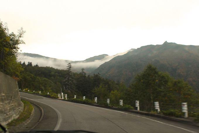 北海道道291号線を東へ