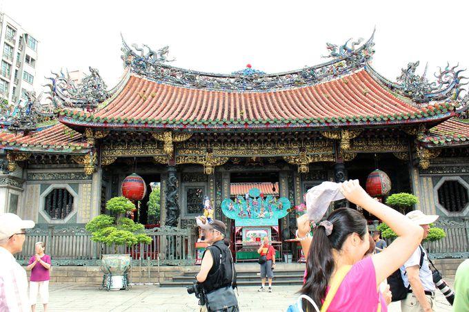 「中国宮殿式廟于建築」は見所満載です