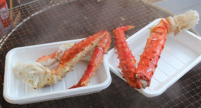 北海道名産「たらば蟹」