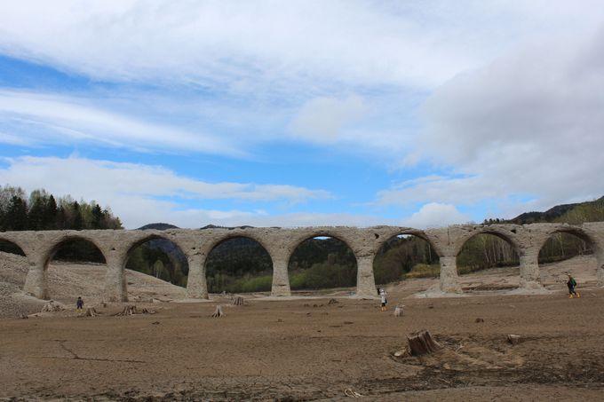かつて蒸気機関車と貨物列車が通った橋!
