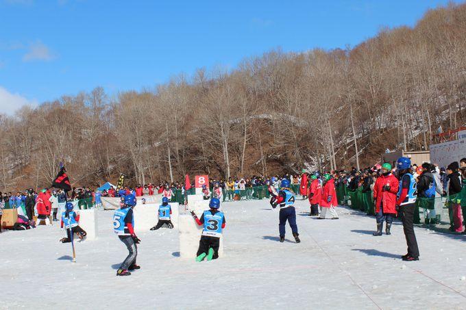 国際雪合戦競技のルールとは?