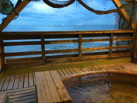 「しおさい漁火露天風呂」で日帰り入浴!函館・湯の浜ホテル|北海道|トラベルjp<たびねす>