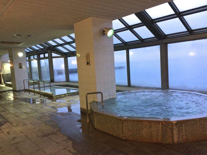 泉質の違う大浴場