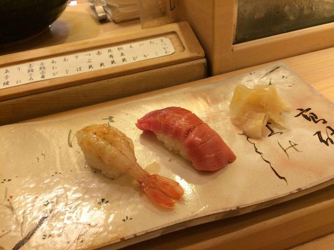 すし善大丸札幌店で、老舗の味「江戸前寿司」を!