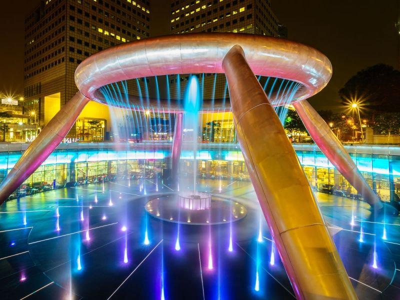 金運アップ!シンガポールのパワースポット「富の噴水」