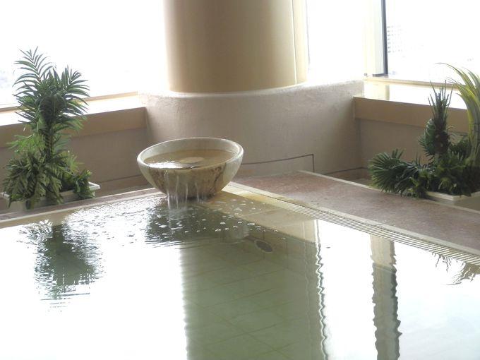 スカイリゾートスパ「プラウブラン」の天然温泉