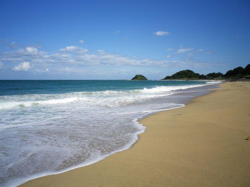 前浜は海水浴場です!
