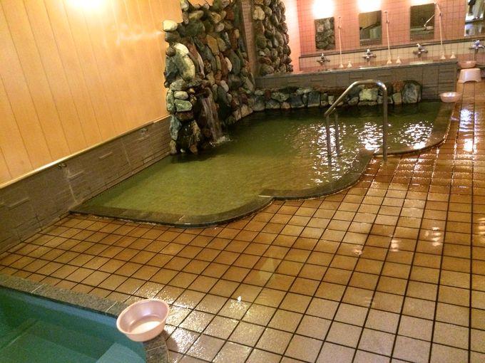 早朝の日帰り入浴も受け付ける「沙流川温泉」!