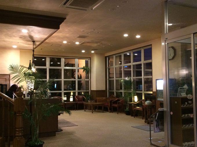 居心地の良い「富士ホテル」のロビー!