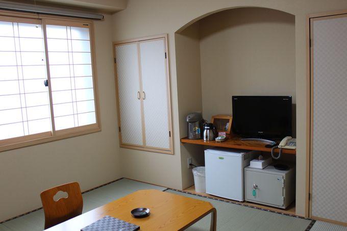 「富士ホテル」和室の客室!