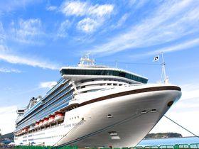 豪華クルーズ船「ダイヤモンド・プリンセス」が入出港する!北海道小樽港|北海道|トラベルjp<たびねす>