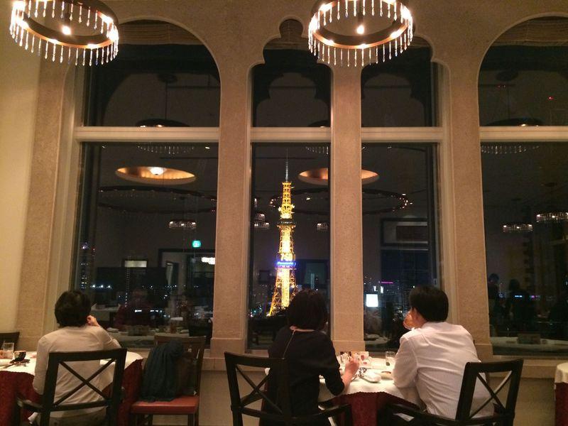 テレビ塔を眺められる中華料理「彩雲」で北海道を味わう!(ホテルモントレエーデルホフ札幌)