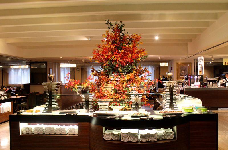 紅葉を観賞しながらのランチも!北海道「定山渓ビューホテル」日帰りプラン