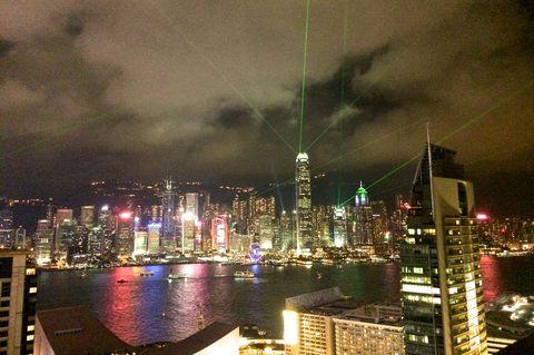 シンフォニー・オブ・ライツで香港の夜景ショーを体感