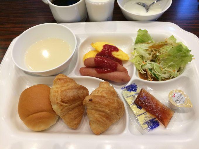 7時からの無料朝食が嬉しい!