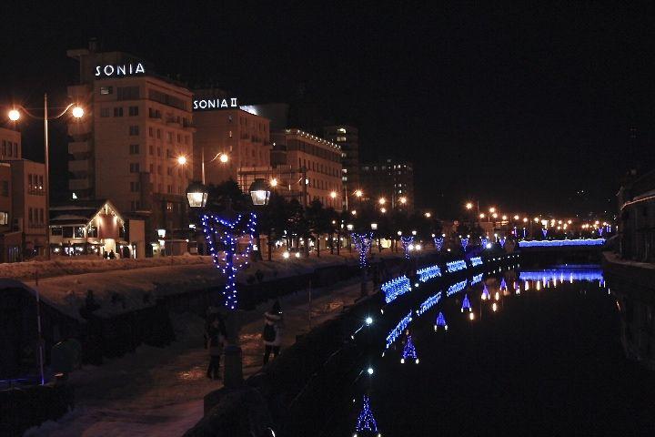 「青の運河会場」は人気スポット!