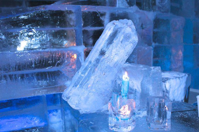 アイスバーで温かい飲み物やお酒を!