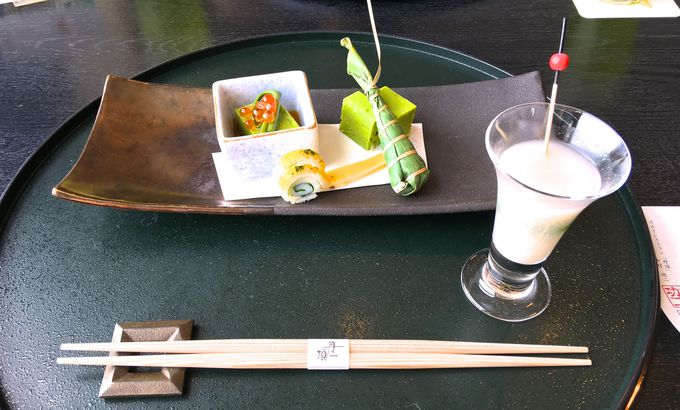 北海道の旬の食材でこだわりの「ランチ会席」!