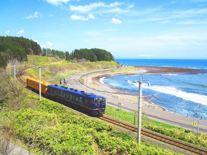 道南いさりび鉄道釜谷から渡島当別の風景!
