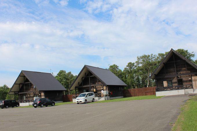 ホテル周辺には温泉コテージやパークゴルフ場が!