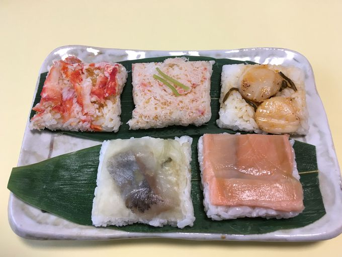 お土産にもお勧め「ひぐまの笹寿司」!