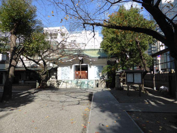 大阪ミナミのアメリカ村に、御津宮という神社があるのご存知ですか?
