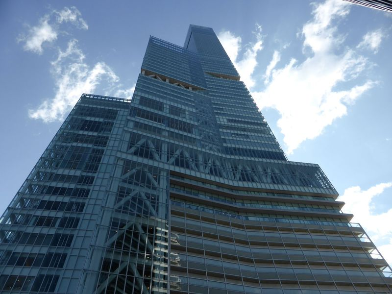 日本一の超高層ビル!心も晴れ晴れ「あべのハルカス」展望台へGo!