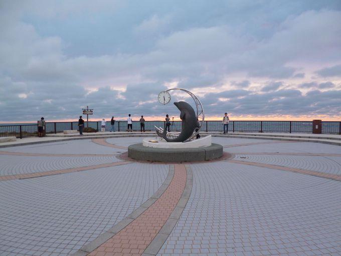 野寒布岬(ノシャップ岬)は夕日の絶好ポイント