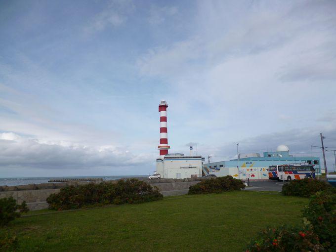 野寒布岬のシンボル稚内灯台