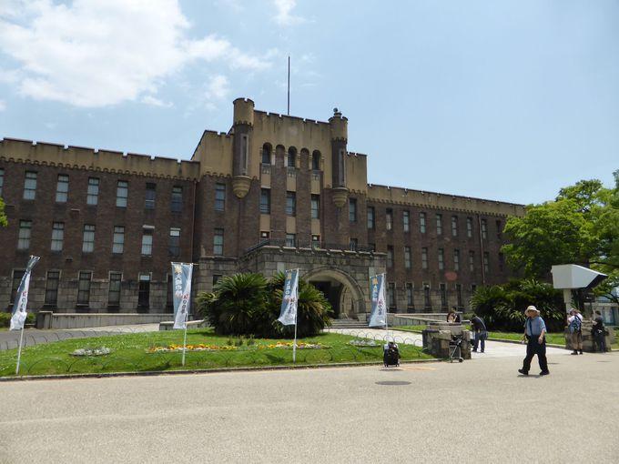 欧州ロマネスク様式の建物「旧第4師団司令部庁舎」