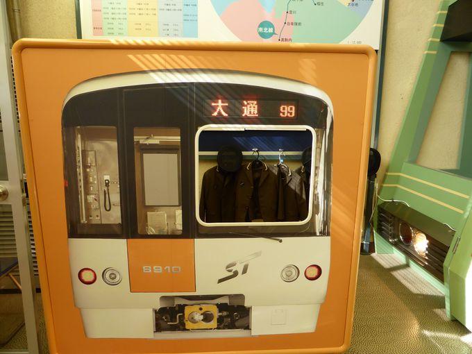 地下鉄運転士気分で写真が撮れる