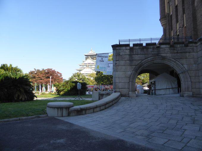 「大坂の陣400年天下一祭・冬の陣2014」開催中の大阪城公園