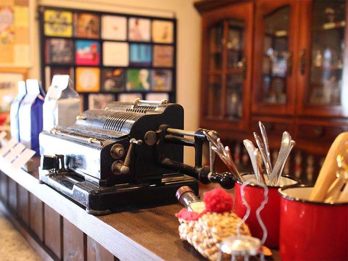 写真館に併設されたセンスのいいゆったりカフェ