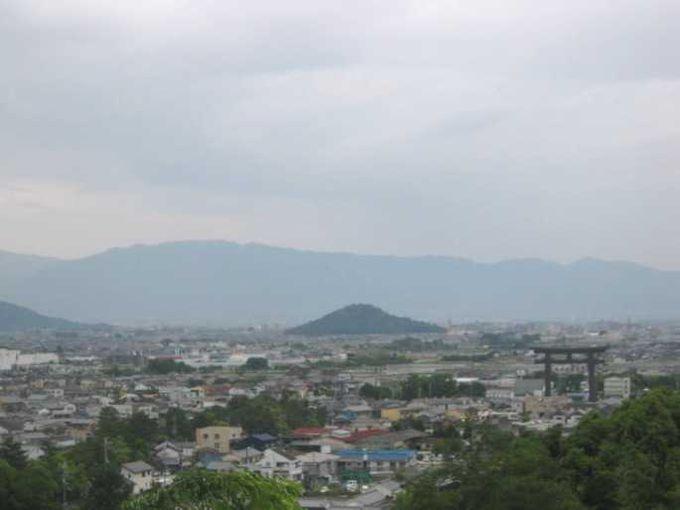 大美和の杜展望台からの景色