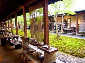 中庭を囲むアート空間「回廊ギャラリー門」で出会う笠間焼(茨城)|茨城県|トラベルjp<たびねす>