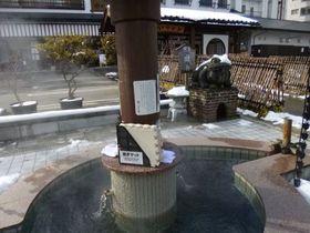 源泉かけ流しもある!越後湯沢温泉3つの足湯と隣接面白観光施設