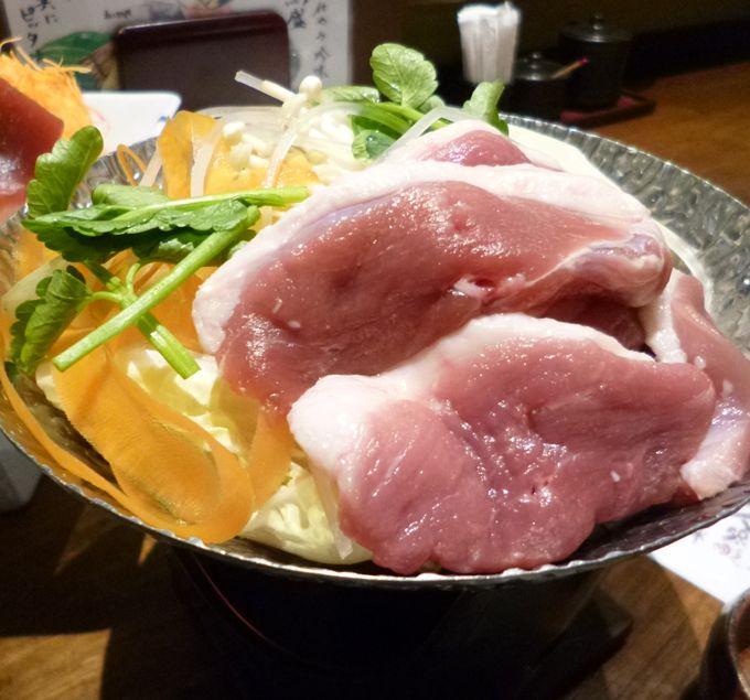 おひとり様でも鍋料理がたのめる!「鴨鍋」は肉が柔らかく美味しい!