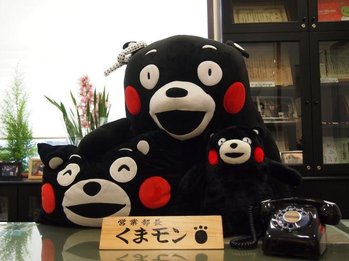 """熊本のご当地キャラ""""くまモン""""の活動拠点「くまモンスクエア」"""