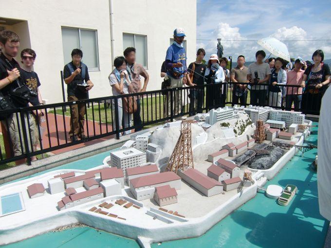 伊王島経由のツアーでは、長崎市高島石炭資料館の見学も興味深い!
