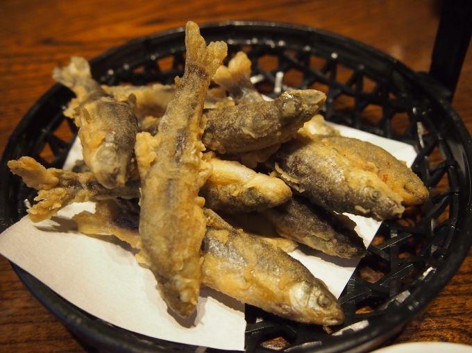 関西では高級魚!那珂川町特産の「ホンモロコ料理」も頂ける