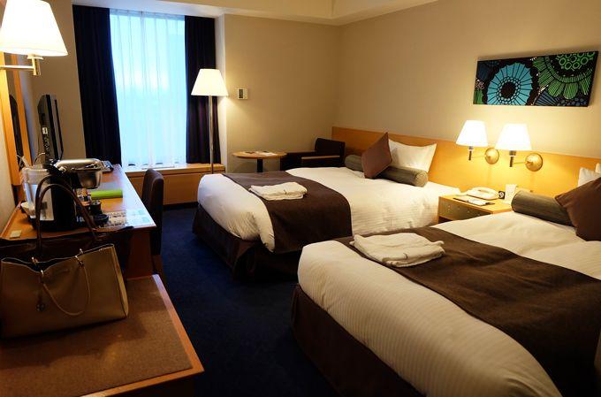 感動体験2 ゆったり客室と充実したアメニティ!観光名所臨む部屋も