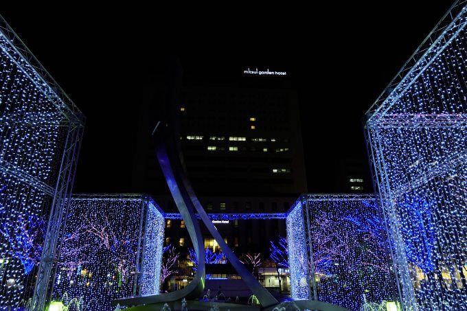 三井ガーデンホテル千葉は世界最長モノレール&ルミラージュちばの絶景特等席!