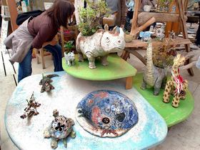 GWは茨城最大の陶器の祭典「笠間の陶炎祭」笠間芸術の森公園を遊び倒す!