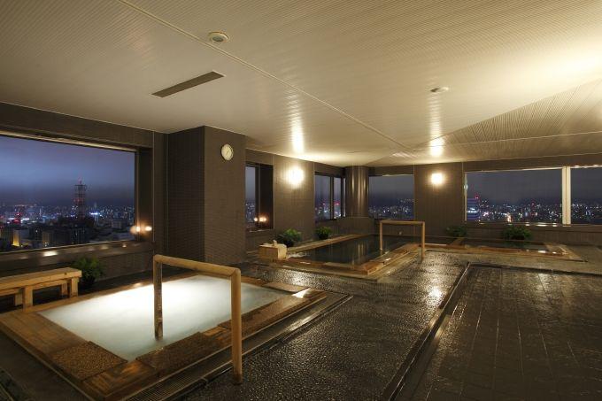 地上100mの天空温泉&レストラン!JRタワーホテル日航札幌は日帰りも楽しい!
